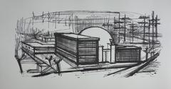 Power Station - Lithograph on vellum - 1968