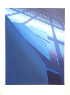 Space-Time - Original handsigned lithograph - 275 ex