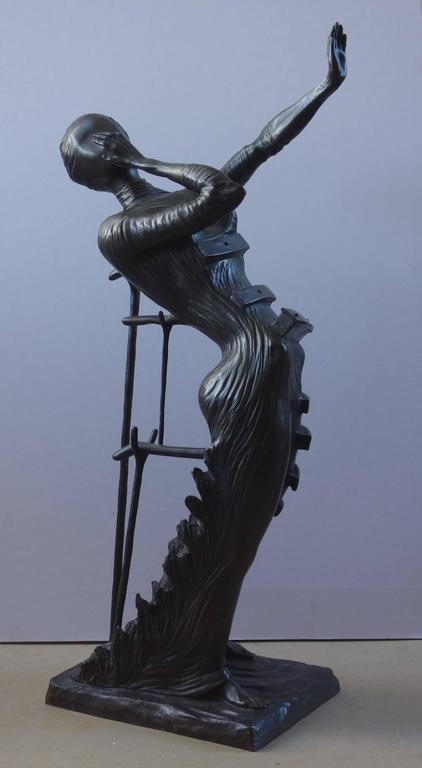 Venus Afire - Tall bronze sculpture - Signed /350ex 3