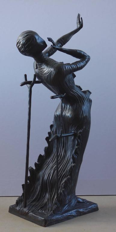 Venus Afire - Tall bronze sculpture - Signed /350ex 4
