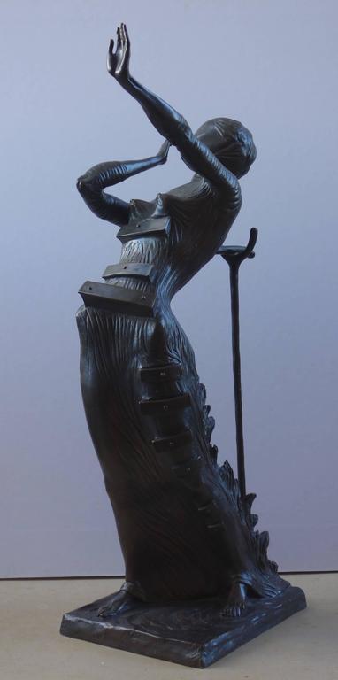Salvador Dalí - Venus Afire - Tall bronze sculpture - Signed /350ex 1