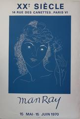 Woman with Light Flower - Lithograph - Mourlot 1970