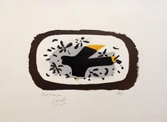 October Bird - Original Handsigned Lithograph