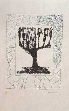 Tree - Orignal Etching Handsigned - 60 copies