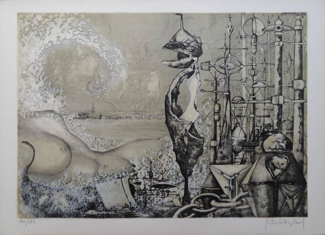 Venice is a Woman and a World - Handsigned lithograph