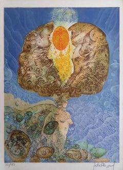Lightning King - Handsigned lithograph