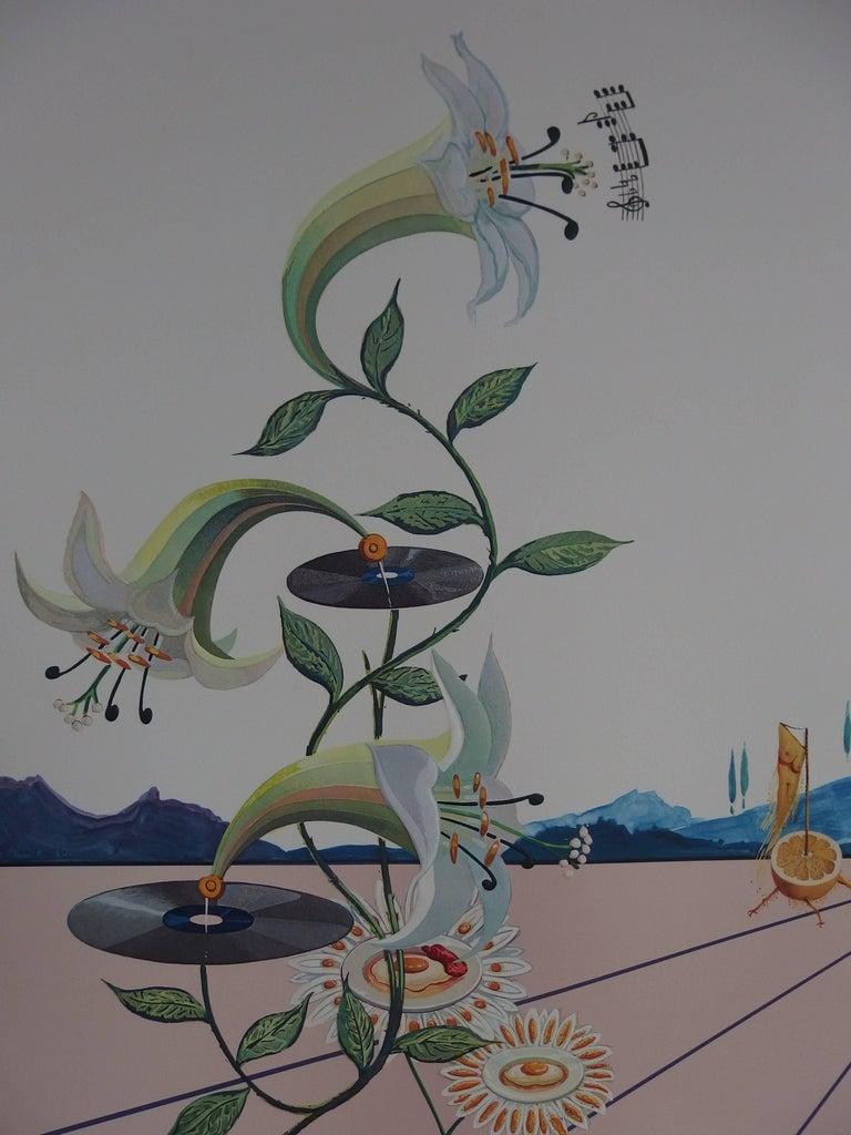 Flordali I - Original Lithograph - 1981 For Sale 3