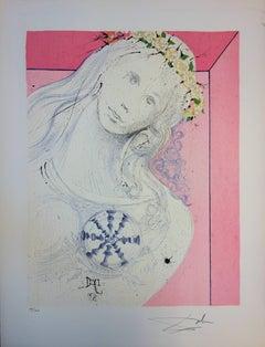 Marquis de Sade : As Pure as her Heart - Handsigned lithograph