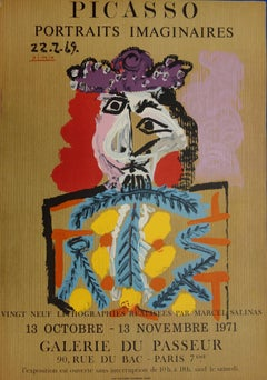 Imaginary Portraits : Torero - Lithograph - 1971