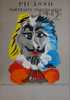 Imaginary Portraits : The Musketeer - Lithograph - 1971