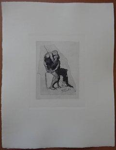 Icarus & Phaeton - Etching (1897)