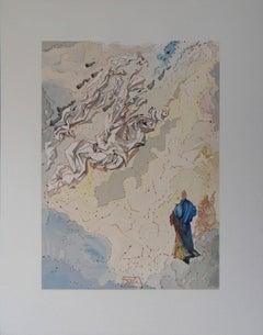 Heaven 20 - The Sixth Heaven of Jupiter - Woodcut - 1963