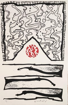 Composition - Original Etching Handsigned and Numbered