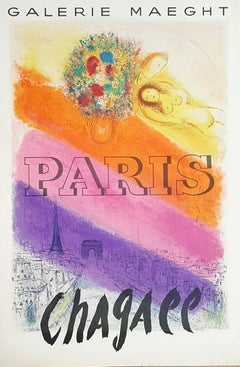 The Champs Elysees - Vintage Poster - 750 copies