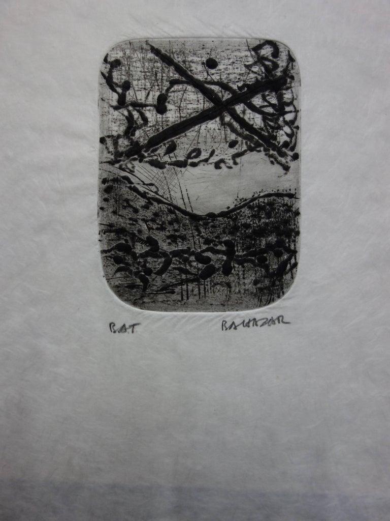 Dreamy Landscape - Original etching with aquatint - Handsigned - Print by Julius Baltazar