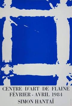 Blue Tabula - Serigraph (Centre Flaine 1984)