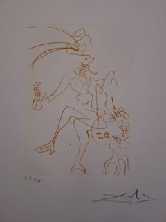 Much Ado About Shakespeare : Merchant of Venice - Original  Signed Etching
