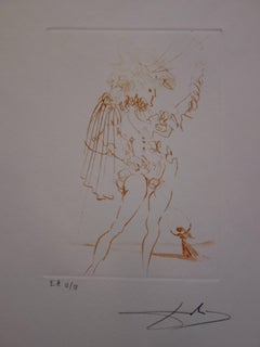 Much Ado About Shakespeare : Measure for Measure - Original  Signed Etching