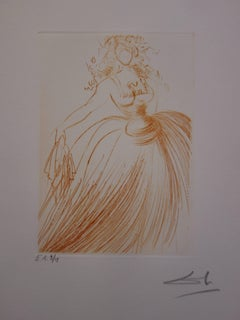 Much Ado About Shakespeare : As You Like It - Original  Signed Etching