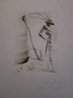 Much Ado About Shakespeare : Romeo and Juliet - Original  Signed Etching