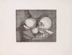 Composition - Original Etching Handsigned Numbered - 50 copies