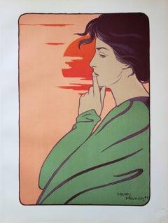 L'heure du silence - Original lithograph (1897/98)