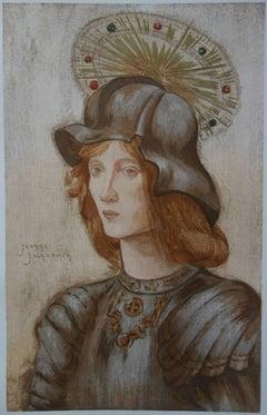 Saint Georges - Original lithograph (1897/98)