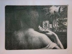 The Hair - Original lithograph - 1897