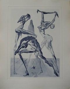 Divine Comedy, Simonists - Etching - 150ex