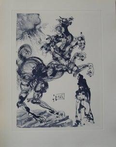 Cerbère - Engraving - 150 copies