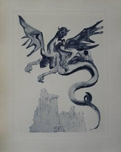 Les Usuriers - Engraving - 150 copies