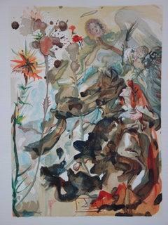 Heaven 25 : Saint James of Hope - Color woodcut - 1963