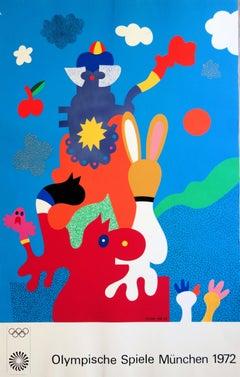 The Mascots - Screenprint (Olympic Games Munich 1972)