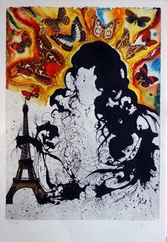 Butterfly suite : Paris - heliogravure - 1969