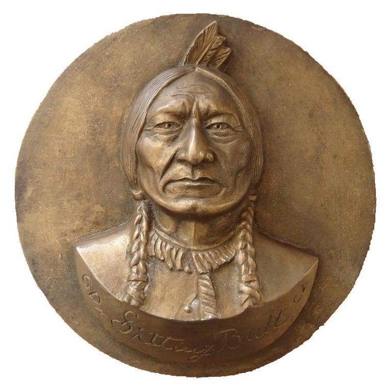 Sitting Bull - Original Signed Sculpture #Unique
