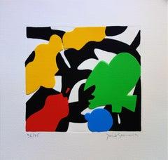 Mimesis : Color Forms - Original handsigned screen print / 75ex