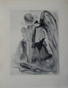 L'Ange -  engraving - 150 copies