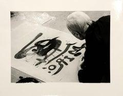 12 Photographies of Joan Miro by Clovis Prevost - Rare - 30 Copies