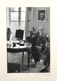 5 Photographies (Picasso's portraits) by Lucien CLERGUE - 30 copies