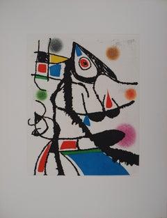 Marteau Sans Maitre VII - Original etching, 1976