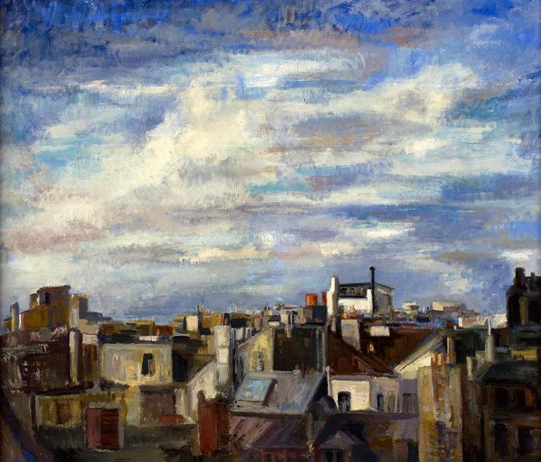 Marion Pike - Paris Cityscape I 1