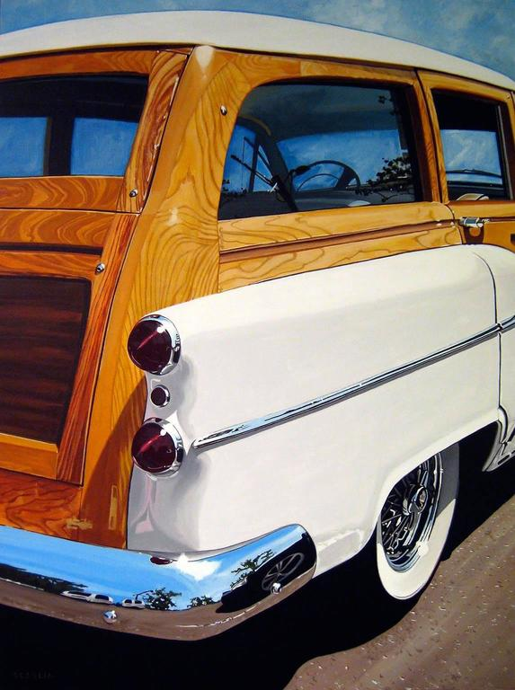 Ken Scaglia - Roadmaster Wood and White 1
