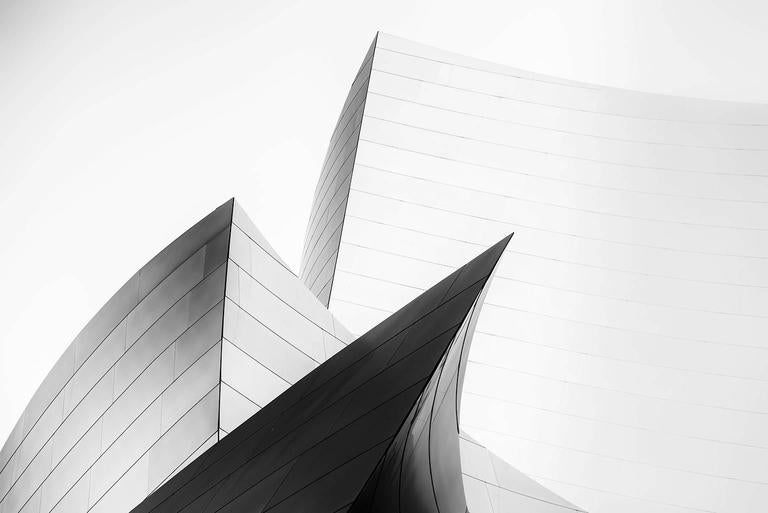 Jim Riche Black and White Photograph - Soft Curves #2
