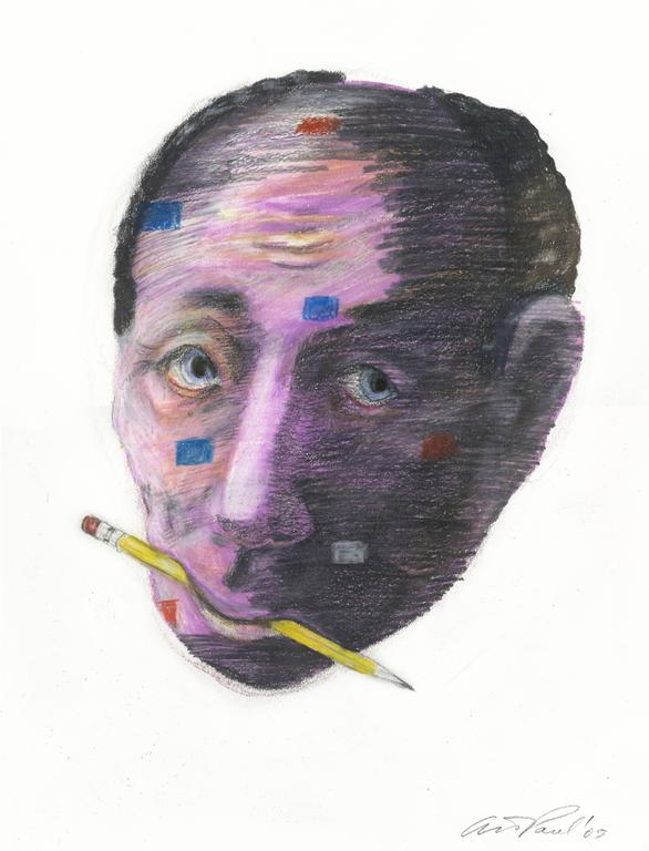 Art Paul Portrait - Head Study 35
