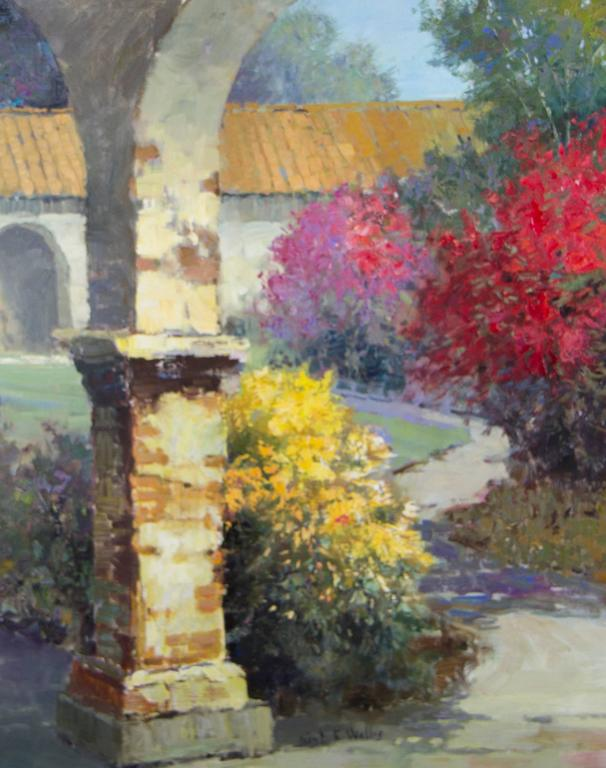 Kent Wallis - Color Around the Archway 1