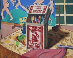Matisse Drawing Crayons