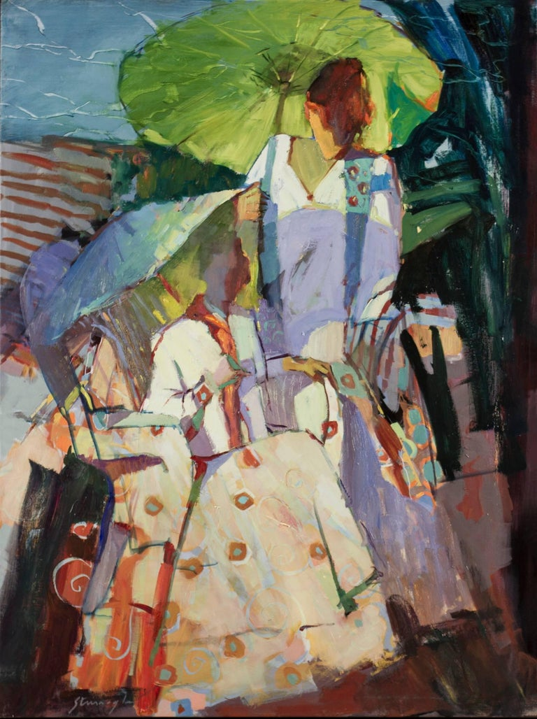 Michael Steirnagle - Umbrella Abstraction 1