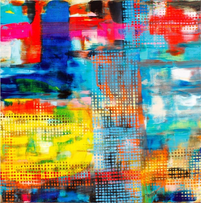 Anthony Liggins Abstract Painting - Sweetest Devotion