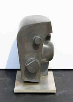 Futuristic Abstract Stone Sculpture