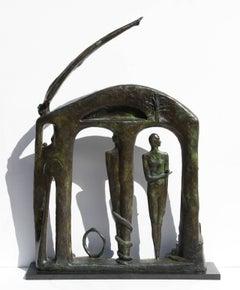 Sundoor, Bronze sculpture by Thom Cooney-Crawford
